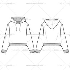 HOODIE fashion flat sketch template – Templates for Fashion design basics Free Fashion Flat Templates + Trim Pack - Courses & Free Tutorials on Adobe Illustrator, Tech Packs & Freelancing for Fashion Designers Fashion Sketch Template, T Shirt Design Template, Fashion Design Template, Fashion Templates, Design Templates, Fashion Design Jobs, Fashion Design Drawings, Fashion Designers, Flat Drawings