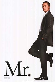 [ MR. AND MRS. SMITH POSTER ]