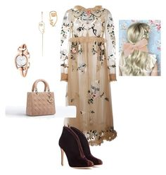 """Untitled #361"" by sh-66-sh on Polyvore featuring VIVETTA, Gianvito Rossi, By Emily, Sarah & Sebastian and Gucci"