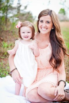 Mother and daughter, family pose, kids, Southern Portraiture