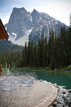 What an amazing ceremony venue