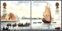 On 22 July 1620 the emigrants were in the Dutch port Delftshaven aboard the 60-ton ship 'Speedwell' and drove to Southampton. There they joined the larger 'Mayflower' and both ships would attempt sail to America together on 5 August 1620.