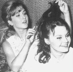 angelica maria y Rocio Durcal