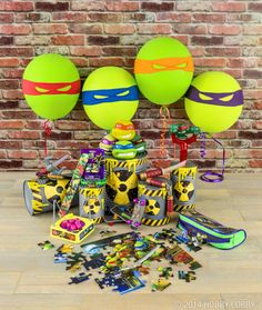 In need of some turtle power? Join forces with these heroes in a half shell to defeat boredom with extreme fun!