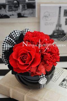 「 母の日 プリザーブドフラワー新作アレンジ 」の画像 Natural Flower's Garden(ナチュフラ)のブログ Ameba (アメーバ)