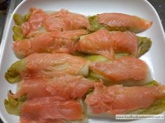 Witlof met zalm in room, tophit Dutch Recipes, Fish Recipes, Vegetable Recipes, Fun Cooking, Healthy Cooking, Healthy Recipes, Cooking Recipes, Happy Foods, Gluten
