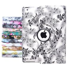 For APPLE iPad/Air/Mini 360 Rotating Magnetic PU Leather Case Smart Cover Stand  #UnbrandedGeneric
