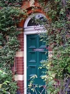 23 ideas teal front door colors with red brick Purple Front Doors, Teal Door, Wood Front Doors, Painted Front Doors, Front Door Colors, Glass Front Door, Front Door Decor, Exterior House Colors, Exterior Paint