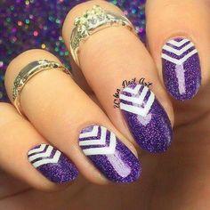 Cheveron nail