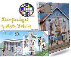 MaTe+TICas y ArTe: Itinerarios matemáticos V: Trampantojos, Anamorfosis y Arte Urbano.