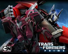 Transformers Prime Optimus and Elita - would it have been so hard to have her in the show.... I mean really?!?