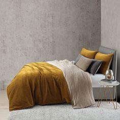 - Bed linen Scandinavian - Bed linen Design DIY - Bed linen Zara Home - Bed linen DIY King Duvet Cover Sets, Bed Duvet Covers, Duvet Sets, King Bedding Sets, Zara Home, Master Suite, Master Bedroom, Gold Comforter, King Comforter