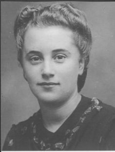 Marthe nee Hoffnungs Cohn, French spy WWII code name 'Mademoiselle Lenotre' worked for Colonel Fabien of the First French Army of the Resistance