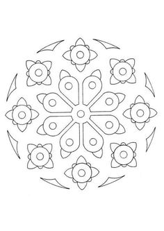 Mandala  35 worksheet
