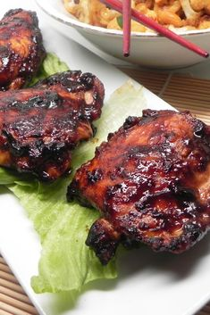 Chinese Recipes With Chicken Thighs Teriyaki Chicken Make Ahead Meals For Busy Moms How To Make Sticky Asian Glazed Chicken Recipe The Recipe Critic Five Spice Chicken Thighs With Apples. Keto Chicken Thigh Recipes, Meat Recipes, Asian Recipes, Chicken Recipes, Cooking Recipes, Ethnic Recipes, Turkey Recipes, Chinese Recipes, Recipies