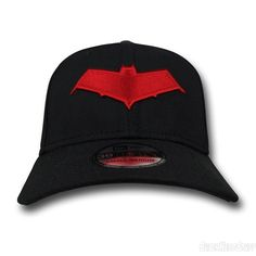 25ecea0f498 Red Hood Symbol 39Thirty Cap Batman Clothing