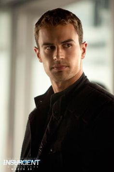 Exactly as I imagined him to look as I read the book. Theo James as Four in Insurgent. Click through to see the full cast & crew! Divergent Theo James, Divergent Four, Divergent Hunger Games, Tris And Four, Divergent Fandom, Divergent Trilogy, Tobias, Veronica Roth, Tris Et Quatre