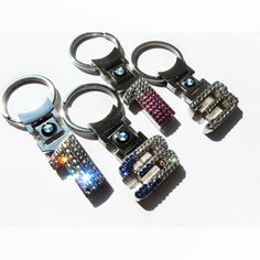 17fc51b134b Bling-Bling BMW 1er key chain Decorated with Genuine Swarovski crystals.  Beautiful shiny item
