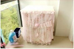 Pink Rose Lace Washing Machine Cover    Size : 61x56x84 cm Price : IDR 135.000  For Order : Pin bb : 5279D5D2 Line : etfelicel1 WA : 085216016388 Ig : etfelicel FB : www.Facebook.com/etfelicel.shop www.etfelicel.com