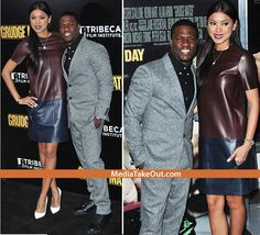 CUTE COUPLE!!! Kevin Hart And His BLASIAN CHICK Hit Up The Red Carpet!! (BLASIANS Are HOT Nowadays . . . There's KARRUECHE . . . CASSIE . . . And HER) - MediaTakeOut.com™ 2013