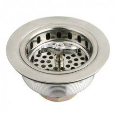 Gourmetier K211 Stainless Steel Kitchen Sink Waste Basket Strainer