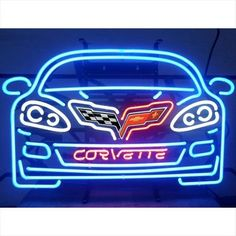 Chevy C6 Corvette Neon Sign