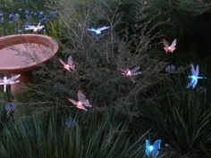 Dragonflies And butterflies solar lights must find these