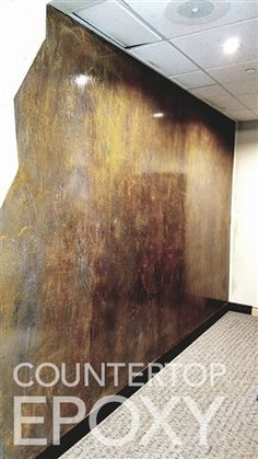 Shower and Accent Wall Epoxy Metallic Coatings - Easy DIY Kits