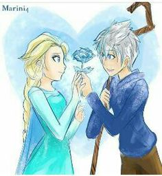 Jack x Elsa I majorly ship them. If you want to see more Jelsa go to my Movies/Disney board :)