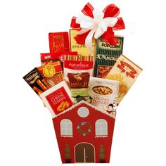 "Home for the Holidays Christmas Gift Basket There's no place like ""Home for the Holidays"". When this homey Christmas basket arrives, it will conjur up the Christmas Wishes, Christmas Holidays, Holiday Gifts, Christmas Gifts, Christmas Hamper, Christmas Gift Baskets, Gourmet Gifts, Holiday Sales, Gift Store"