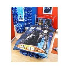 Zap Doctor Who Cyberman Single Duvet Set: Amazon.co.uk: Kitchen U0026amp