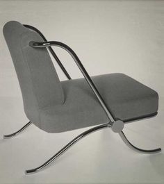 Cool Tubular Chair by J.J.P. Oud