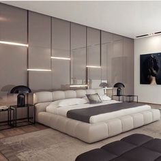 Modern Luxury Bedroom Design Ideas – H. - 14 Modern Luxury Bedroom Design Ideas – Home Decor Modern Luxury Bedroom Design Ideas – H. - 14 Modern Luxury Bedroom Design Ideas – Home Decor - Modern Luxury Bedroom, Luxury Bedroom Design, Master Bedroom Design, Contemporary Bedroom, Luxurious Bedrooms, Home Bedroom, Bedroom Decor, Interior Design, Luxury Bedrooms