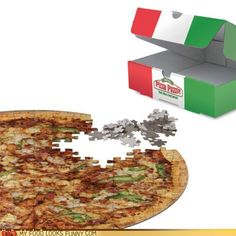 Pizza puzzle piece of the pie??