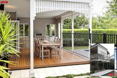 Architects Hawthorne, Brisbane 4171 - Queenslander Renovation with sympathetic contemporary changes to a previously renovated Queenslander renovations Outdoor Areas, Indoor Outdoor, Outdoor Living, Brisbane, Queenslander House, Back Patio, Front Deck, Exterior House Colors, Pool Houses