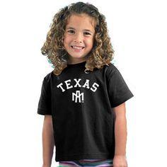 Texas A&M Aggies NCAA Arch Logo Black Toddler T-Shirt