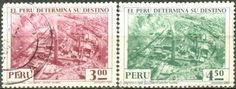 SELLOS de PERU - 1974