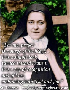 St. Terese of Lisieux