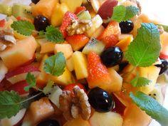 Edel's Mat & Vin : Fruktsalat med vanilje & cognac ✿