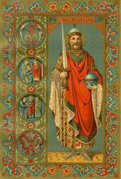 St. Henry, son of Henry, Duke of Bavaria  was most watchful over the welfare of the Church and exerted his zeal for the maintenance of ecclesiastical discipline through the instrumentality of the Bishops. Both he and his wife, St. Cunegundes, lived in perpetual chastity, to which they had bound themselves by vow. The Saint made numerous pious foundations, gave liberally to pious institutions and built the Cathedral of Bamberg