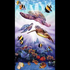 Steve Sundram Turtle Play 500Pc Jigsaw Puzzle SunsOut http://www.amazon.com/dp/B000PCMCJ0/ref=cm_sw_r_pi_dp_vJ-Eub0RRV47C