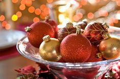 Christmas Centerpieces | Holiday centerpiece