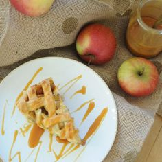 Salted Caramel Apple Pie | Azure Standard natural and organic ingredients would be amazing in this recipe! Contact us at today 785-380-0034 if you are interested in having high quality affordable organics delivered to your area.