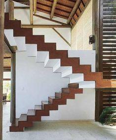 Projetos de escada cascata