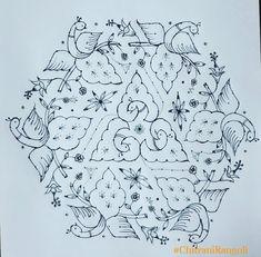 Rangoli Designs With Dots, Rangoli With Dots, Indian Rangoli, Collections, Art, Art Background, Kunst, Gcse Art