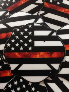 Firefighter Images, Firefighter Stickers, Firefighter Crafts, Firefighter Family, Volunteer Firefighter, Firefighters, Fire Dept, Fire Department, Thin Red Line Flag