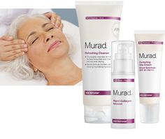 Murad Anti-Aging Facial - Reveal vibrant, younger-looking skin with our targeted Murad Anti-Aging Facial.  Appropriate for all skin types, concentrated Glycolic Acid provides maximum exfoliation. You'll see the dramatic, youthful, difference when your Massage Envy Spa Esthetician helps you lift away dulling, aging layers of dead cells and debris.