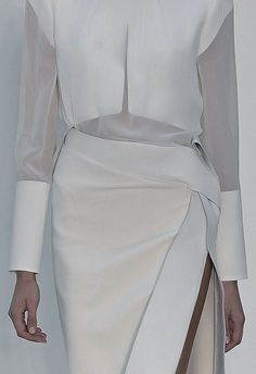 toouglyforfashion:  ejakulation:Dion Lee, S/S 2013