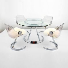 Boris Tabakoff Dining Table and 4 Chairs : Lot 106