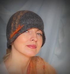 """Клош """"Жар-птица пролетела..."""" Шляпка ручной работы от Ирины Спасской."""